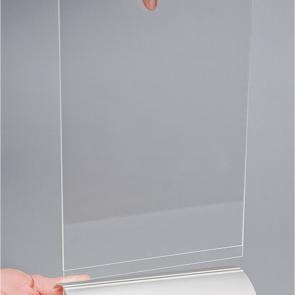 Akryl display vertikal i A4, A5, A6, A7, M65