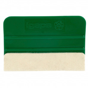 Folieskraber med filt - Folieskraber - Hjælp til montering af folie - Folieværktøj - Skraber