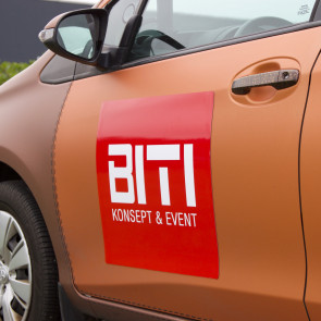 Magnetskilt - Skilt til bil - Bilreklame - Magnet til bil - Bedste kvalitet til lavest pris