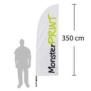 Beachflagg, large
