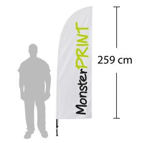 Beachflagg, medium