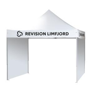 Pavillion side - Side til din pavillion - Design din egen pavillionside - Messeudstyr