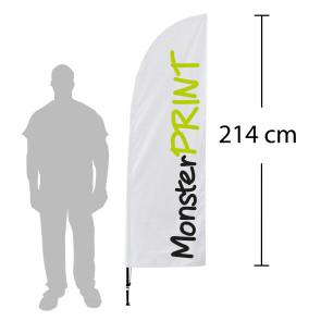 Beachflagg, small