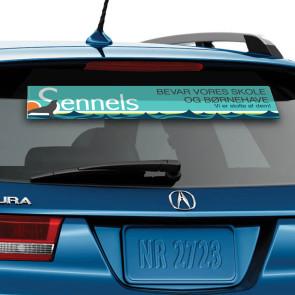 Klistermærker til bilen - Få dit logo på din bil - Bilstreamer - Firmabil - Bilklistermærker i høj kvalitet - Billige streamers i højeste kvalitet