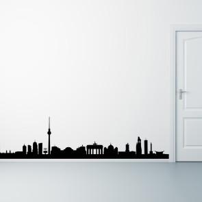 Berlin på din væg - Storby - Wallsticker med Berlin - Moderne wallsticker - Bedste kvalitet til laveste pris