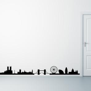 London på din væg - Storby - Wallsticker med London - Moderne wallsticker - Bedste kvalitet til lavest pris