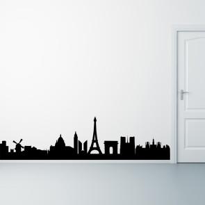 Paris på din væg - Storby - Wallsticker med Paris - Moderne wallsticker - Bedste kvalitet til laveste pris