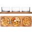 Snackglas med logo, serveringssæt med logo