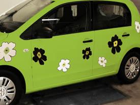 Alt i folieindpakning af biler og bildekorationer - Læs mere
