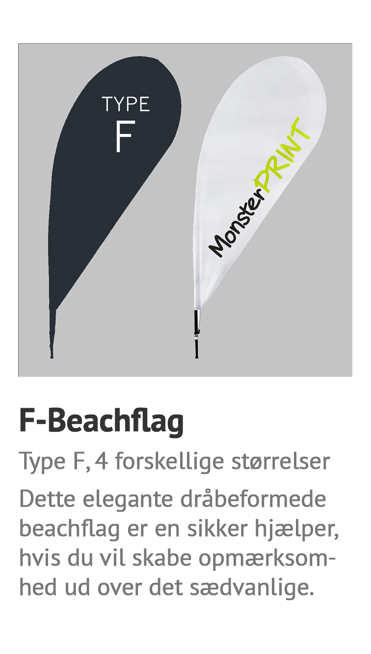 F-Beachflag, billig strandflag, beachflag, surfflag god kvalitet