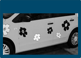 Bildekorasjon - Bilindpakning - Bilreklame - Læs mere